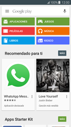 Samsung Galaxy J5 - Aplicaciones - Descargar aplicaciones - Paso 4