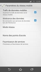 Sony Xperia Z3 Compact - Aller plus loin - Désactiver les données à l'étranger - Étape 6