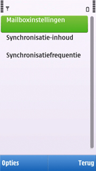 Nokia C6-00 - E-mail - e-mail instellen: POP3 - Stap 14