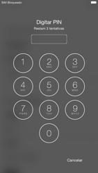 Apple iPhone 6 iOS 9 - Primeiros passos - Como ligar o telemóvel pela primeira vez -  5