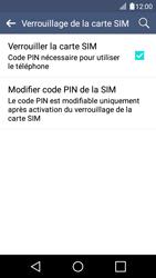 LG K4 - Sécuriser votre mobile - Personnaliser le code PIN de votre carte SIM - Étape 7