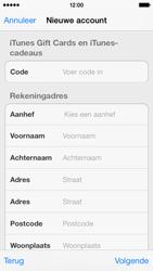 Apple iPhone 5c - Applicaties - Account aanmaken - Stap 20