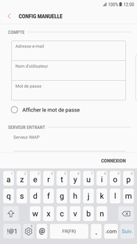 Samsung Galaxy S6 Edge+ - Android Nougat - E-mail - Configurer l