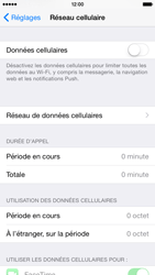 Apple iPhone 6 iOS 8 - Internet - Activer ou désactiver - Étape 5
