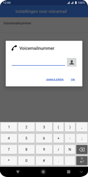 Sony xperia-xz3-dual-sim-model-h9438 - Voicemail - Handmatig instellen - Stap 11