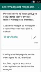 NOS NOVU - Aplicações - Como configurar o WhatsApp -  8