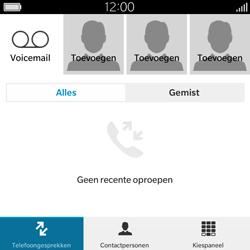 BlackBerry Classic - Voicemail - Handmatig instellen - Stap 4
