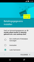 HTC One M9 - Applicaties - Account aanmaken - Stap 16