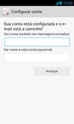 Huawei Y340 - Email - Como configurar seu celular para receber e enviar e-mails - Etapa 18