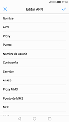Huawei P10 - Mensajería - Configurar el equipo para mensajes multimedia - Paso 9