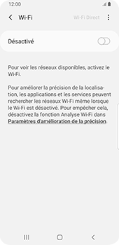 Samsung Galaxy S9 Android Pie - Wifi - configuration manuelle - Étape 5