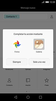 Huawei GX8 - Mensajería - Escribir y enviar un mensaje multimedia - Paso 14