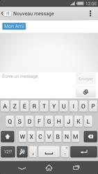 Sony Xperia Z2 - Contact, Appels, SMS/MMS - Envoyer un MMS - Étape 10