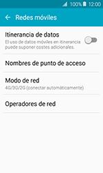 Samsung Galaxy J1 (2016) (J120) - Red - Seleccionar el tipo de red - Paso 5