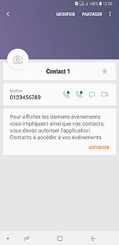 Samsung Galaxy A7 2018 - Contact, Appels, SMS/MMS - Ajouter un contact - Étape 11
