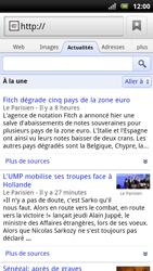 Sony Ericsson Xperia Arc S - Internet - navigation sur Internet - Étape 7
