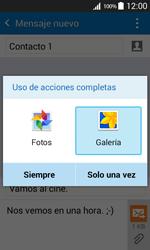 Samsung Galaxy Core Prime - Mensajería - Escribir y enviar un mensaje multimedia - Paso 16