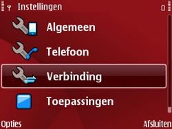 Nokia E63 - MMS - Handmatig instellen - Stap 5