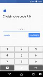 Sony Xperia XZ Premium - Sécuriser votre mobile - Activer le code de verrouillage - Étape 9