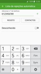 Samsung Galaxy S6 Edge - Chamadas - Como bloquear chamadas de um número -  10