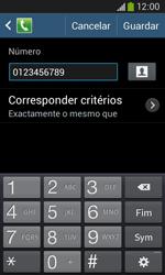 Samsung Galaxy Ace 3 LTE - Chamadas - Como bloquear chamadas de um número -  12