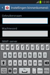 Samsung S6810P Galaxy Fame - E-mail - e-mail instellen: IMAP (aanbevolen) - Stap 8