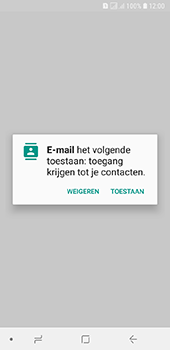 Samsung Galaxy A6 - E-mail - handmatig instellen (outlook) - Stap 5