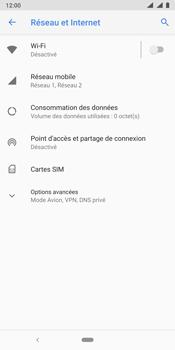 Nokia 9 - Wifi - configuration manuelle - Étape 4