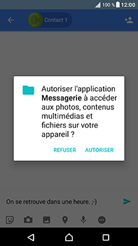 Sony Xperia XA1 Ultra - Contact, Appels, SMS/MMS - Envoyer un MMS - Étape 10