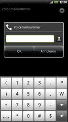 HTC Z715e Sensation XE - Voicemail - Handmatig instellen - Stap 7