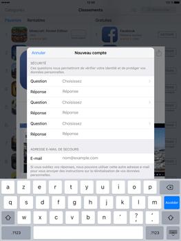 Apple iPad Pro (9.7) - Applications - Télécharger des applications - Étape 12