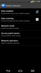 LG G Flex D955 - Internet - Manual configuration - Step 7