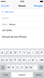 Apple iPhone 5c - E-mail - envoyer un e-mail - Étape 7