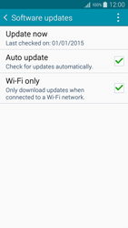 Samsung A500FU Galaxy A5 - Network - Installing software updates - Step 7