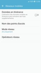 Samsung Samsung G920 Galaxy S6 (Android M) - Réseau - Changer mode réseau - Étape 7
