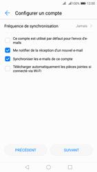 Huawei Nova 2 - E-mail - Configuration manuelle - Étape 18