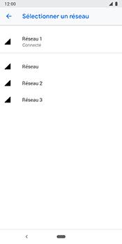 Google Pixel 3 - Réseau - Utilisation à l