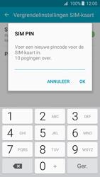 Samsung Galaxy J3 (SM-J320FN) - Beveiliging en ouderlijk toezicht - Hoe wijzig ik mijn SIM PIN-code - Stap 9