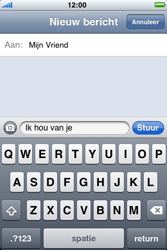 Apple iPhone 4 - MMS - hoe te versturen - Stap 6
