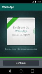 LG K4 - Aplicações - Como configurar o WhatsApp -  10