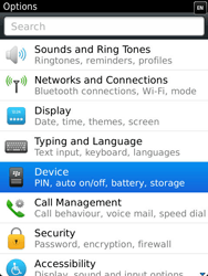 BlackBerry 9810 Torch - Settings - Configuration message received - Step 4