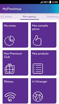HTC Desire 825 - Applications - MyProximus - Étape 16