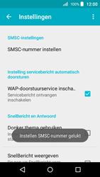 Acer Liquid Z320 - SMS - handmatig instellen - Stap 9