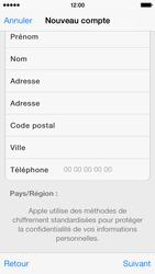 Apple iPhone 5s - Applications - Créer un compte - Étape 22
