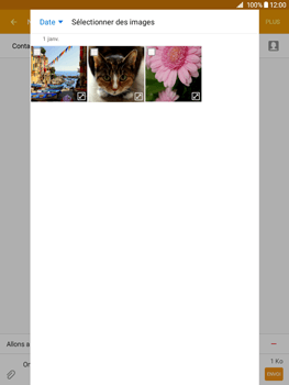 Samsung Galaxy Tab A - Contact, Appels, SMS/MMS - Envoyer un MMS - Étape 20