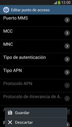 Samsung Galaxy S4 Mini - Internet - Configurar Internet - Paso 16