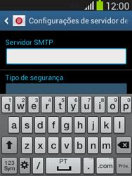 Samsung S5310B Galaxy Pocket Neo - Email - Como configurar seu celular para receber e enviar e-mails - Etapa 13