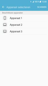 Samsung J710 Samsung Galaxy J7 (2016) - Contactgegevens overzetten - delen via Bluetooth - Stap 9