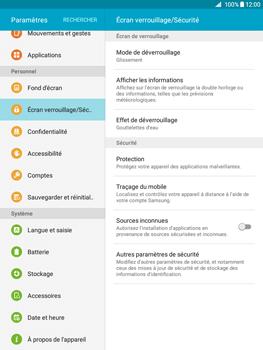 Samsung Galaxy Tab A - Sécuriser votre mobile - Activer le code de verrouillage - Étape 5