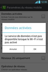 LG E610 Optimus L5 - Internet - activer ou désactiver - Étape 7